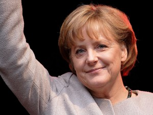 Angela Merkel: Queen of Europe par dullhunk via Flickr, CC