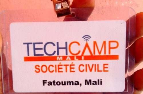 Article : TechCamp Mali 2014, il m'a fallu un tweet